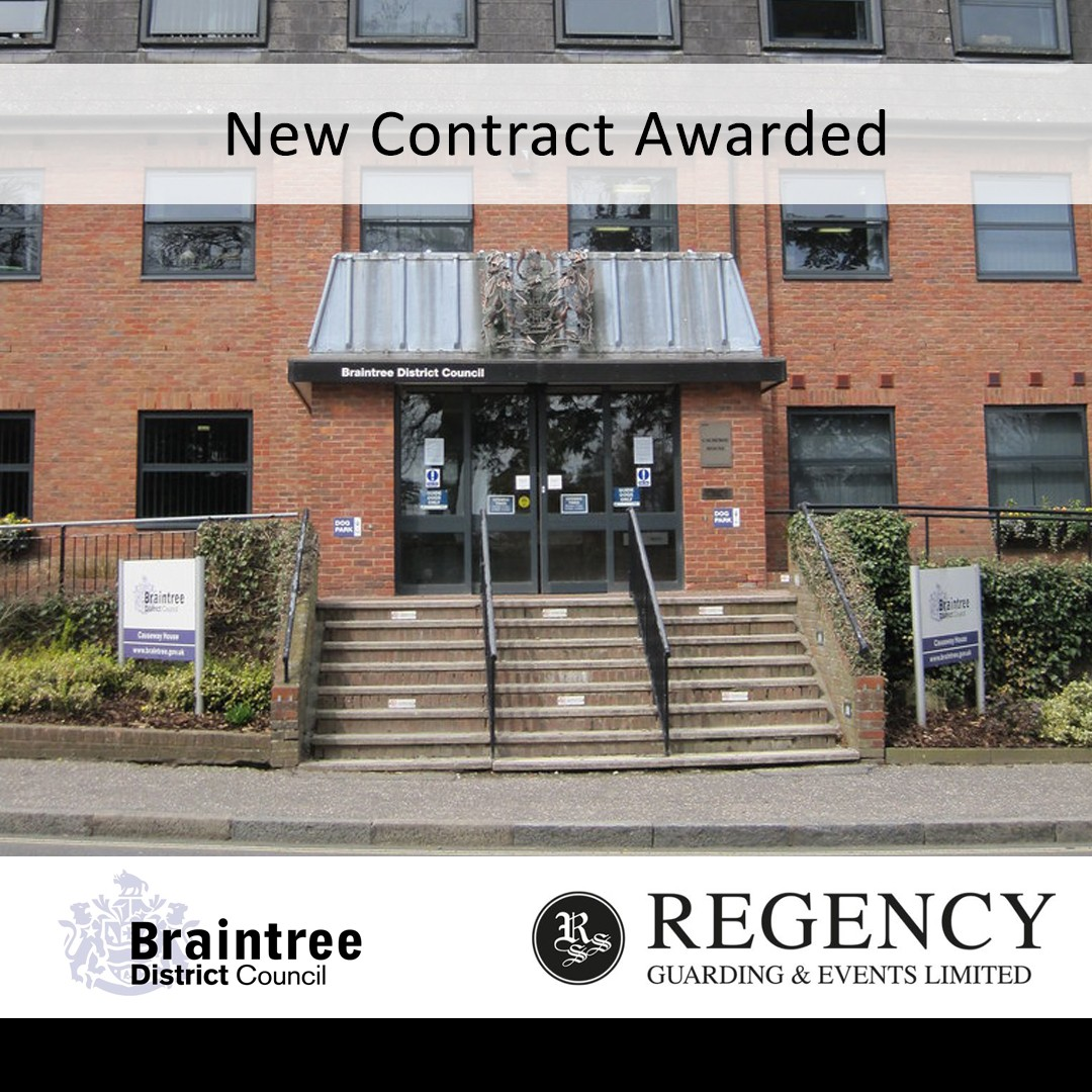 Braintree District Council awards new contract to Regency Guarding and Events  thumbnail 1