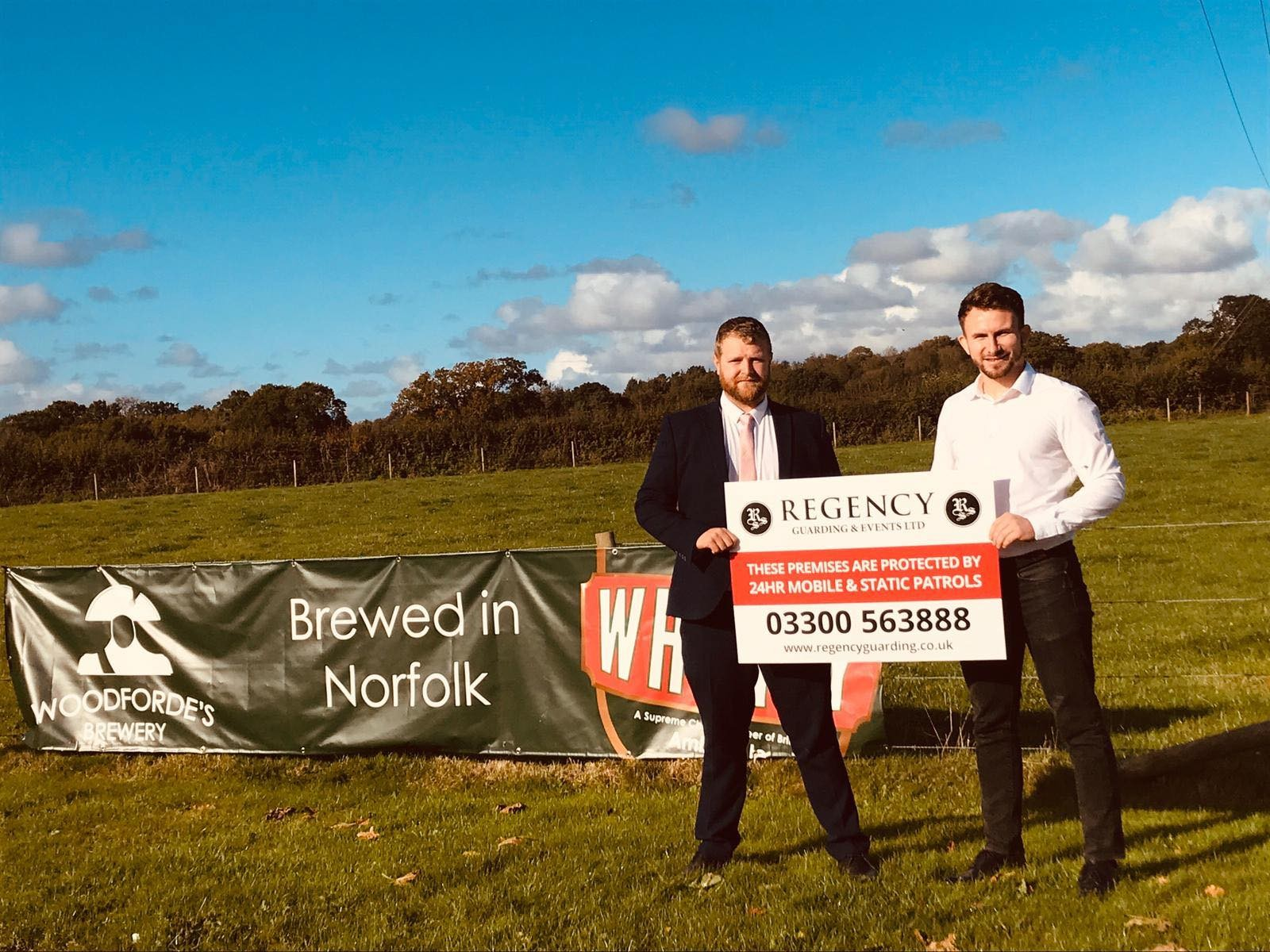 Woodforde's Brewery Appoints Regency Guarding and Events thumbnail 1